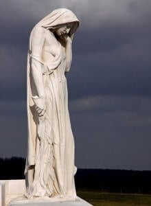 Vimy Ridge Memorial Photo by Guillaume Flickr