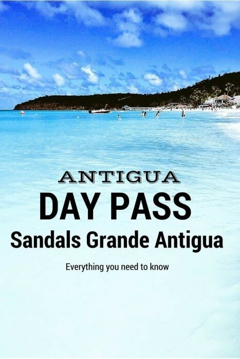 Day Pass to Sandals Grande Antigua