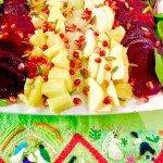ensalda de nochebuena - Christmas eve salad from Mexico