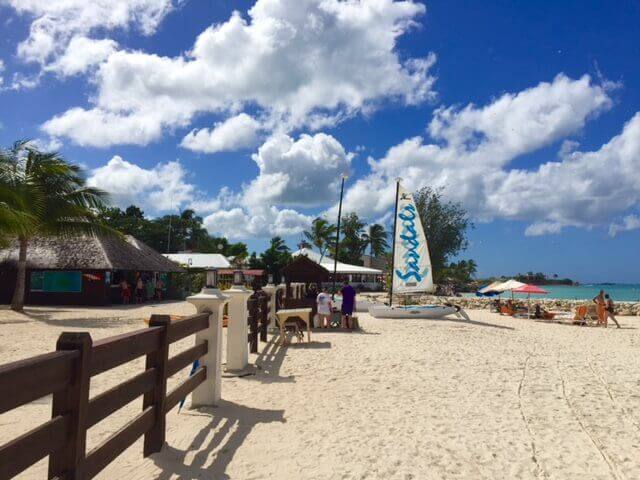 Beach at Dickenson Bay, Sandals Grande Antigua
