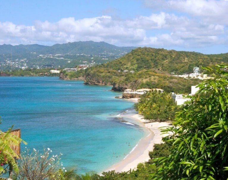 Grenada is best known for its 40 beaches