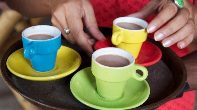 Cocoa Tea is a traditional Grenadian drink