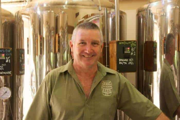 Mark Heath is the brewmaster at West Indies Beer Co., Grenada's first brewpub