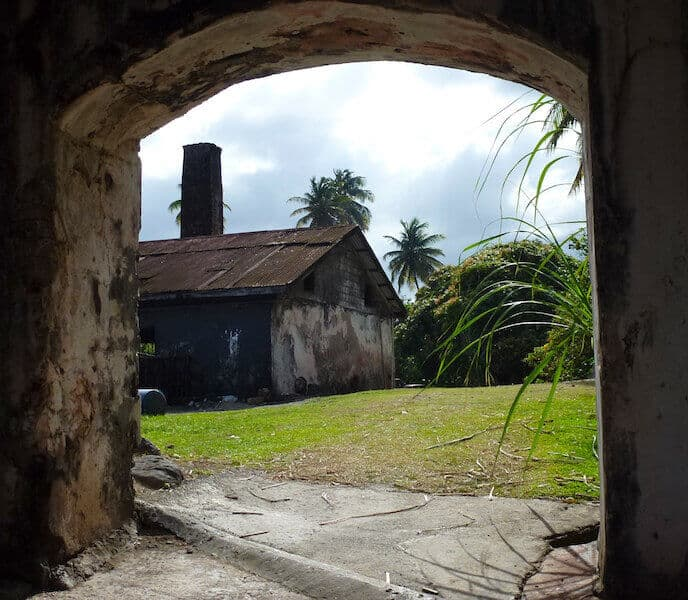 River Antoine Estate and Rum Distillery was founded in 1785