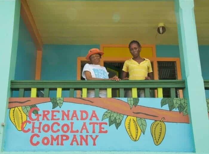 Grenada Chocolate Company is a cooperative, organic facility