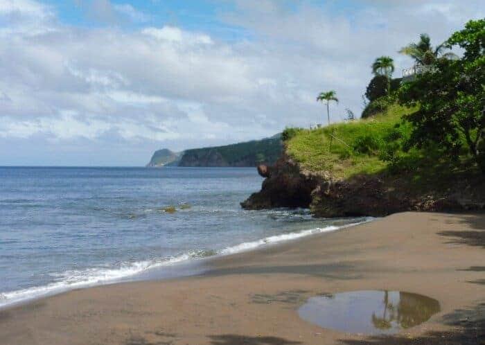 Lime Kiln Beach on Montserrat