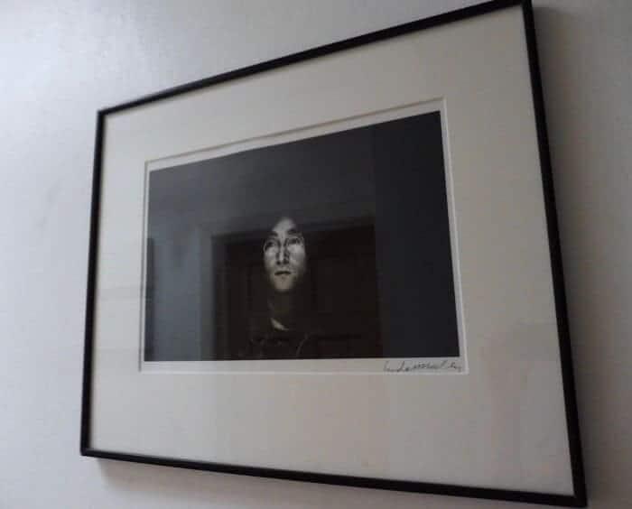 Signed photography artwork by Linda McCartney