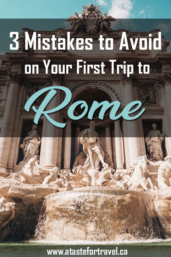 Planning your first trip to beautiful Rome? Find out how to avoid the most common travel mistakes. Read our tips on making sure you don't miss out on the best of Rome from delicious food tours, fascinating museums and major attractions such as the Colosseum, Trevi Fountain and more.