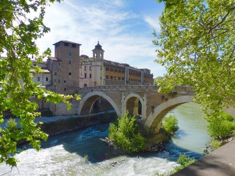 Ponte Cestio in Rome