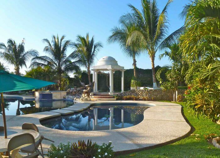 Swimming pool at Punta Esmeralda Hotel