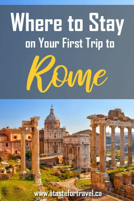 where to stay in Rome
