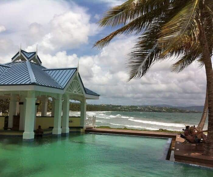 Magdalena Grand Beach Resort overlooks Tobago's wild Atlantic coast
