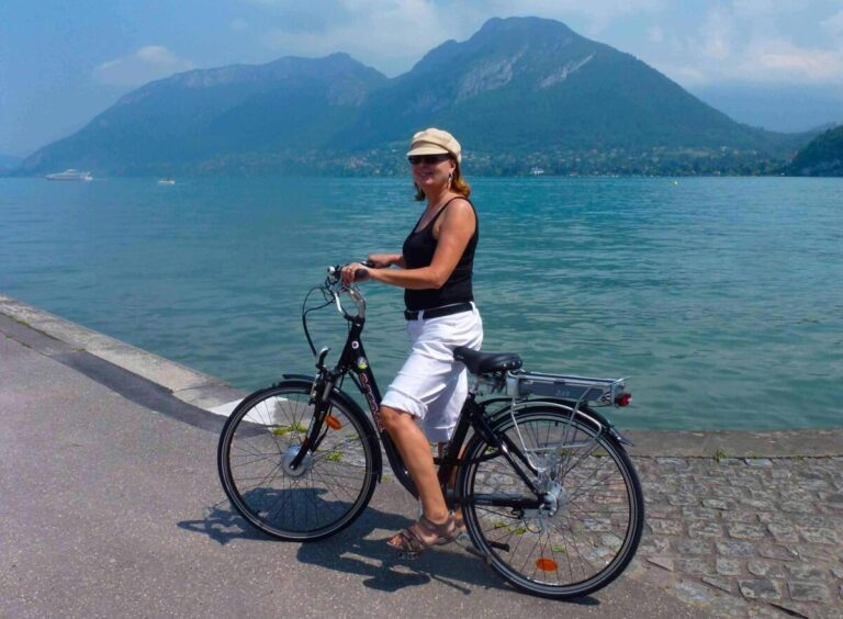 Cycling Annecy France