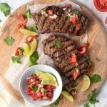 Beer and Balsamic Grilled Steak