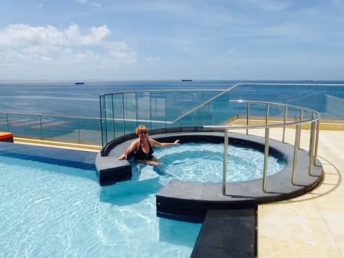 A rooftop pool makes Hyatt Regency a top choice in Port of Spain