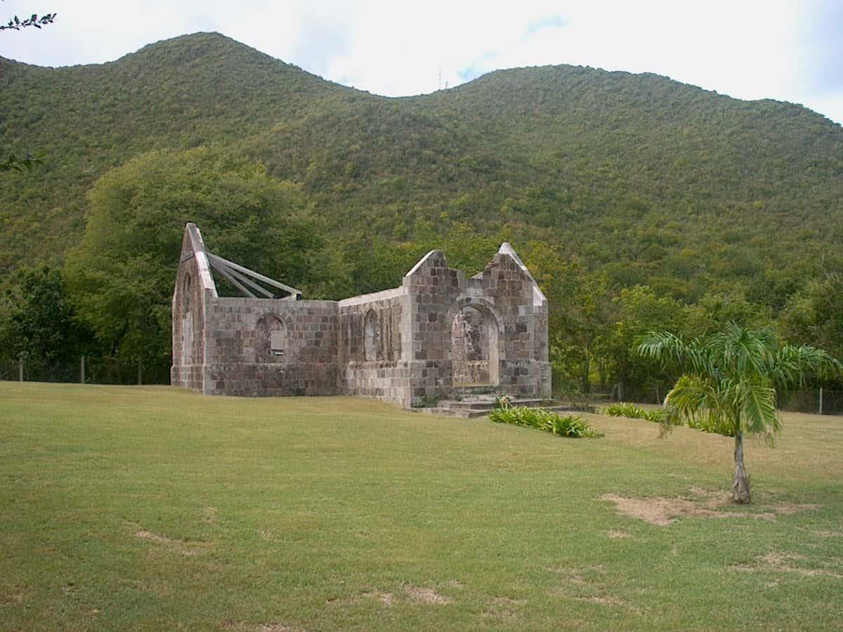 Cottle Church Nevis Tourism Authority