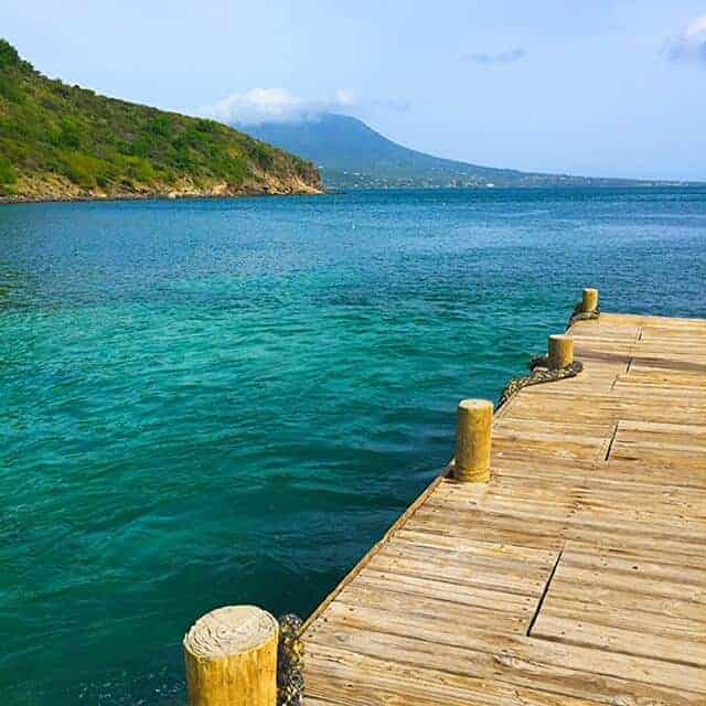 Dock on St. Ktts for transfer to Nevis