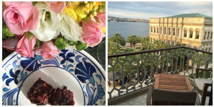 Suite with balcony view at Ciragan Palace Kempinski