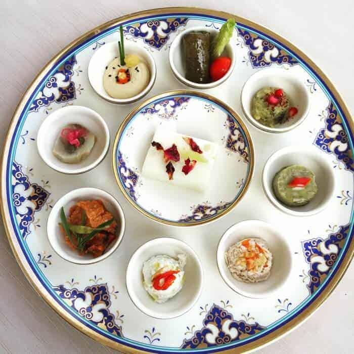 Cuisine at Tugra Restaurant