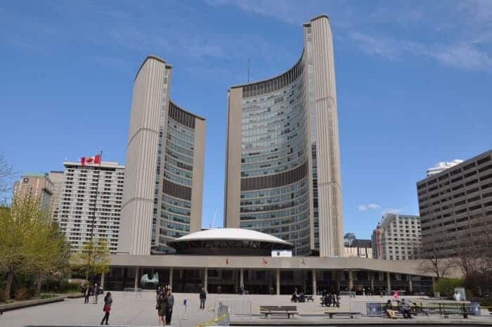 Visiting Nathan Phillips Square is one of the top things to do in Toronto