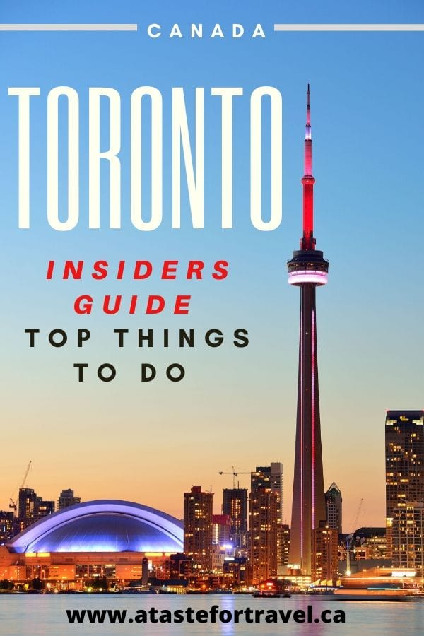 Top Things to Do in Toronto Canada