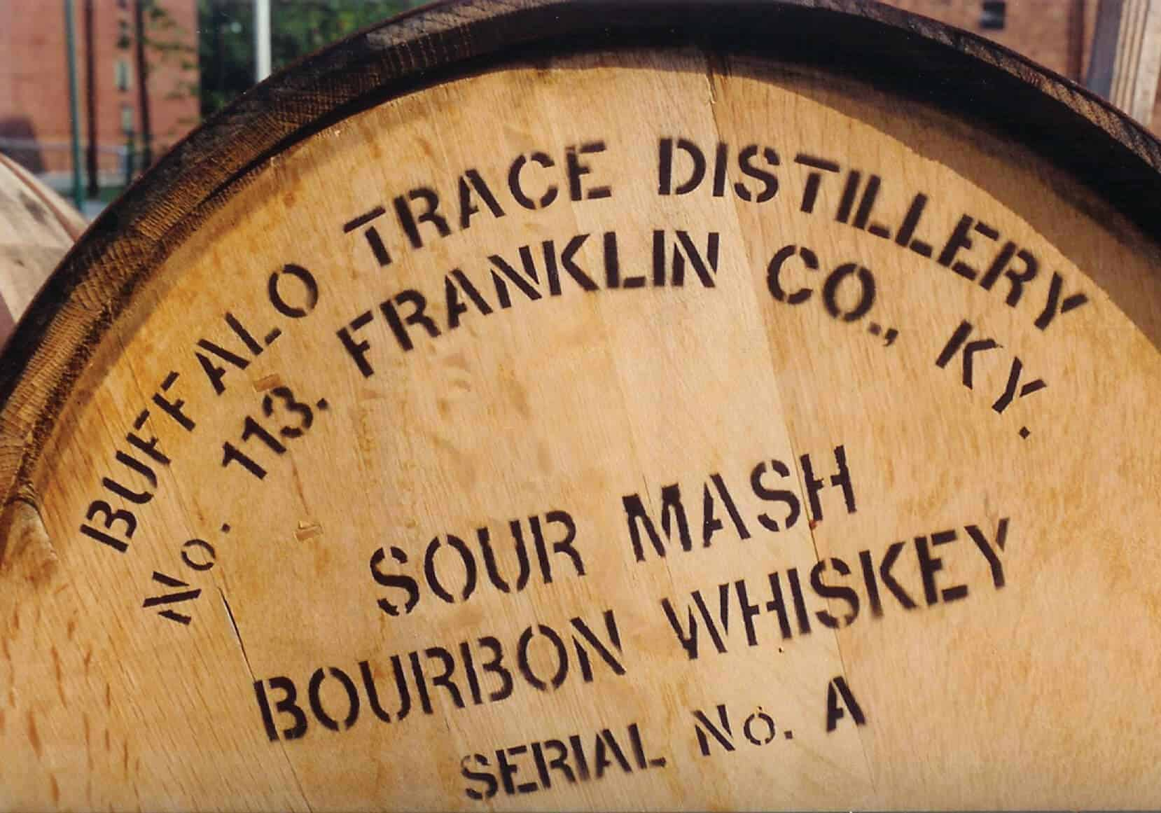 Kentucky Bourbon barrel Credit Buffalo Trace Distillery
