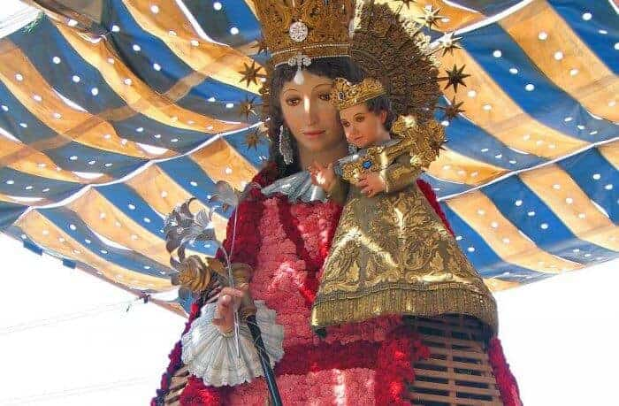 Our Lady of the Forsaken, the patron Virgin of Valencia