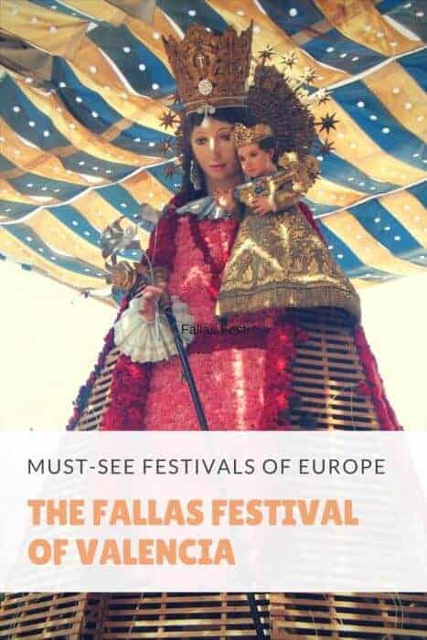 Enjoy food, fireworks and fun at Las Fallas festival in Valencia Spain