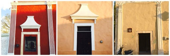 Intriguing doors of Valladolid Yucatan