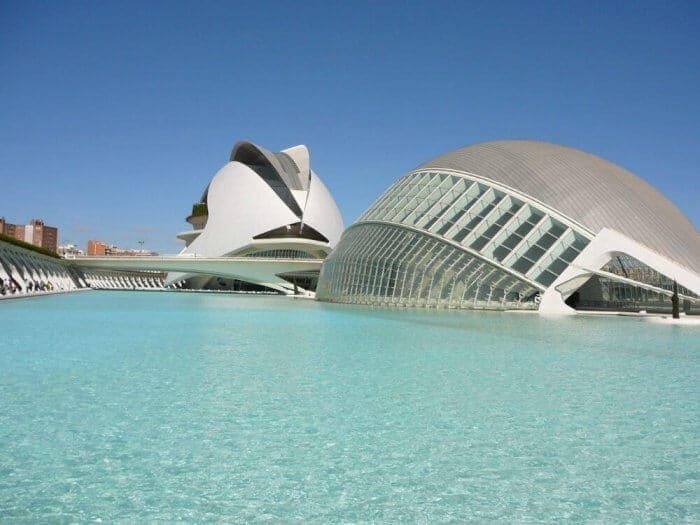 Modern architecture of Valencia