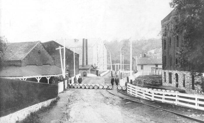 Loading barrels in Kentucky Credit Buffalo Trace Distillery