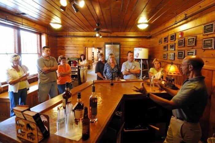Buffalo Trace Distillery Bourbon tasting room Photo Credit Buffalo Trace Distillery