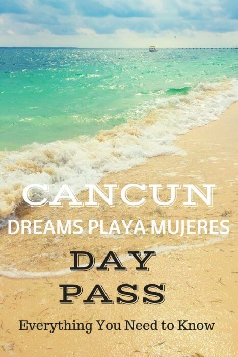 Enjoy a day of luxury with a Day Pass to Dreams Playa Mujeres Resort near Cancun