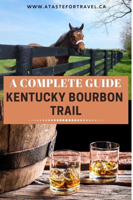 Kentucky Bourbon Trail in 2 Days