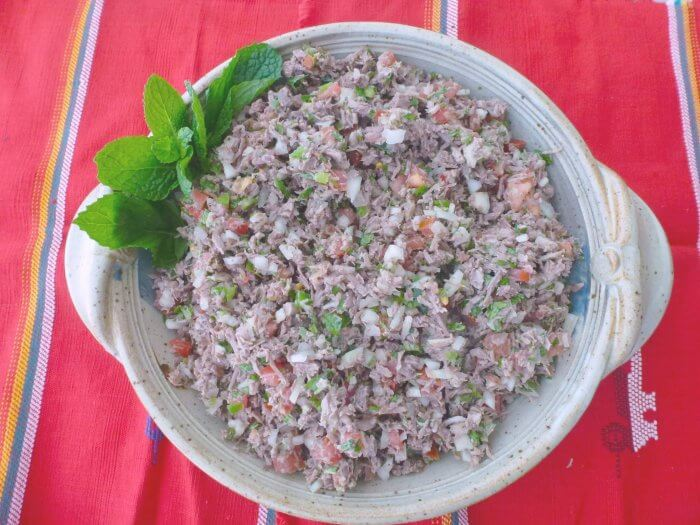 Salpicon de res Guatemalteco Recipe