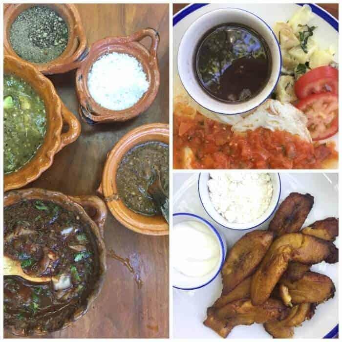 Breakfast at La cueva del chango in Playa del Carmen