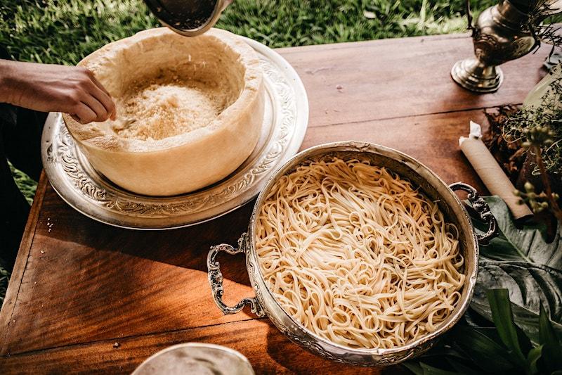 Making pasta in Italy Credit Jonathan Borba