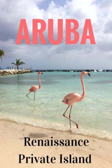 Enjoy a day of luxury in a private cabana at famous Flamingo Beach on Renaissance Aruba Private Island