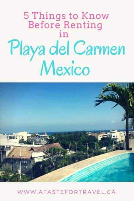 Tips, advice and real-life examples of vacation apartments to rent in Playa del Carmen
