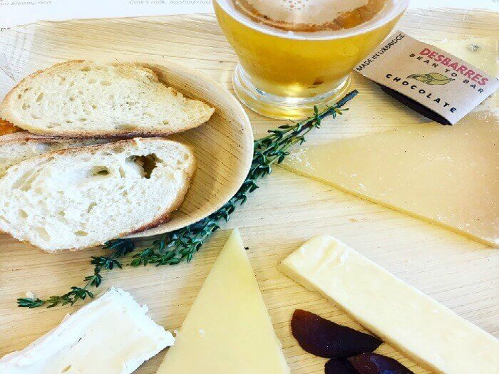 Cheese and craft beer tasting on the York-Durham Heritage Railway