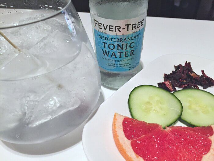 Create your own Gin and Tonic at Nota Bene restaurant in Toronto