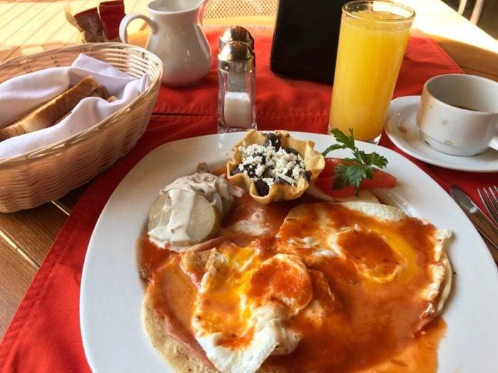 Huevos Rancheros Oaxaca Mexico