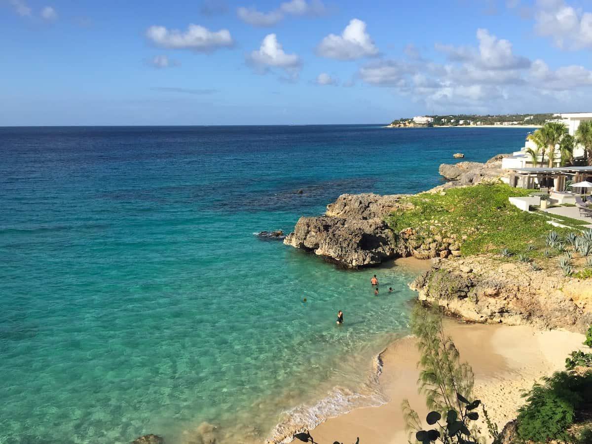 Beautiful ocean view at Four Seasons Anguilla.