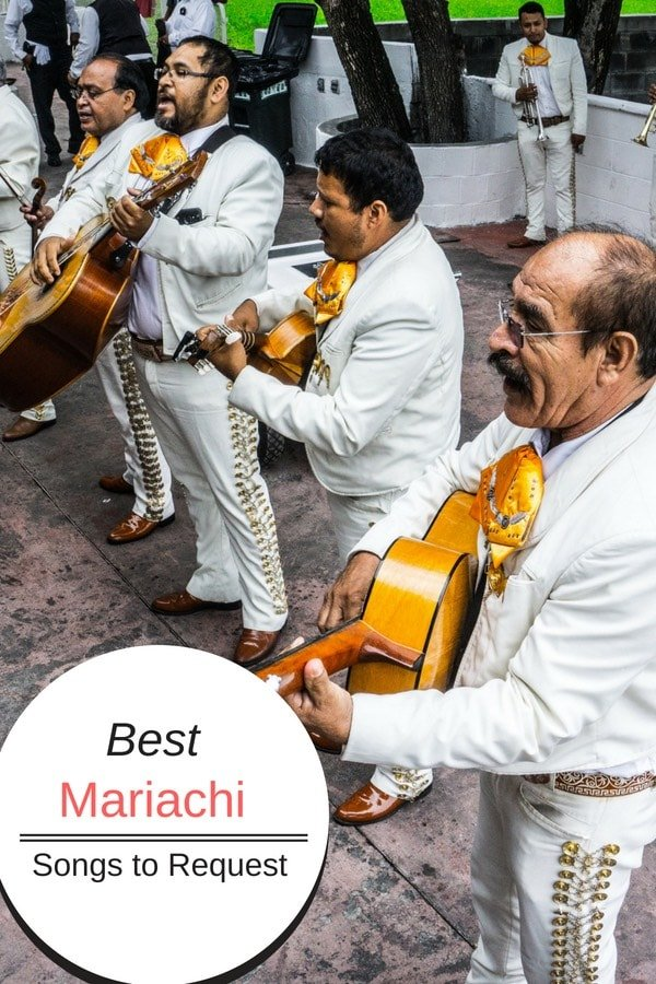 It's not a party without music! Here's our list of the best mariachi songs to request for a party, wedding or fiesta. These are the top mariachi songs to dance to as well as popular mariachi love songs