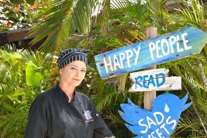 Chef Annelotte Ellis Aruba