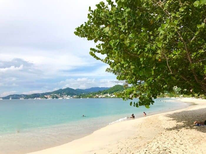 Grand Anse Beach at the Radisson Hotel Grenada