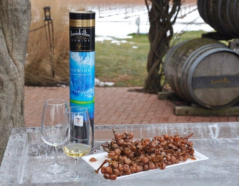 Iniskillin ice wine at Niagara Icewine Festival