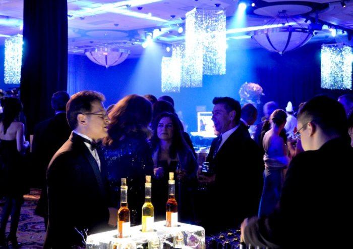Varieties of ice wine at the Xerox Icewine Festival Gala
