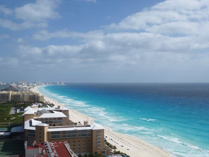 View from Secrets The Vine Cancun