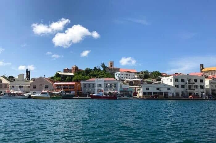 St. George's Harbour in Grenada